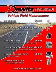 Eau Claire Oil Change, Transmission Flush, Coolant Flush, Fuel Cleaning